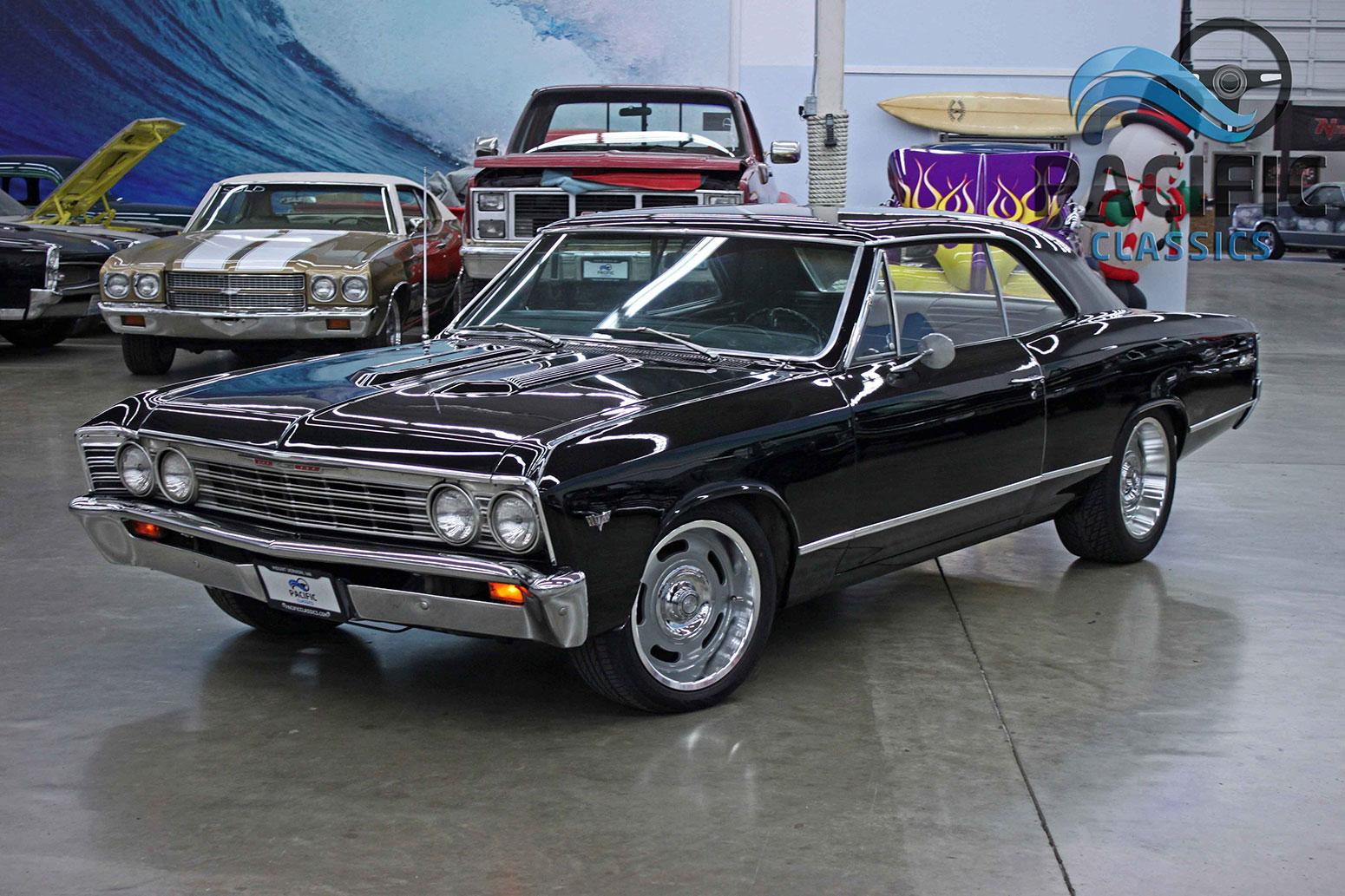 1967 Chevrolet Chevelle Black Pacific Classics