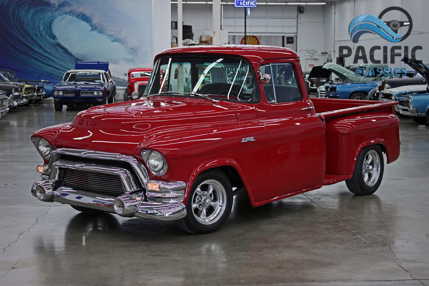 1955 GMC Big Window Pickup