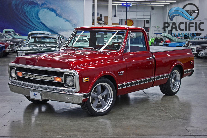 1970 Chevrolet C10 Red