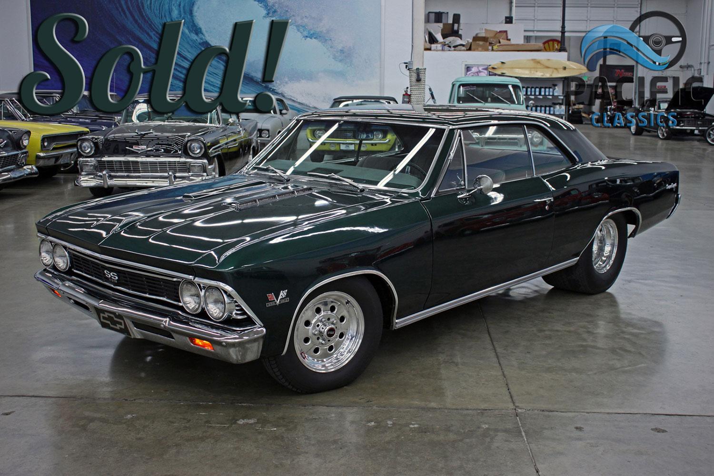 1966 Chevrolet Chevelle Green