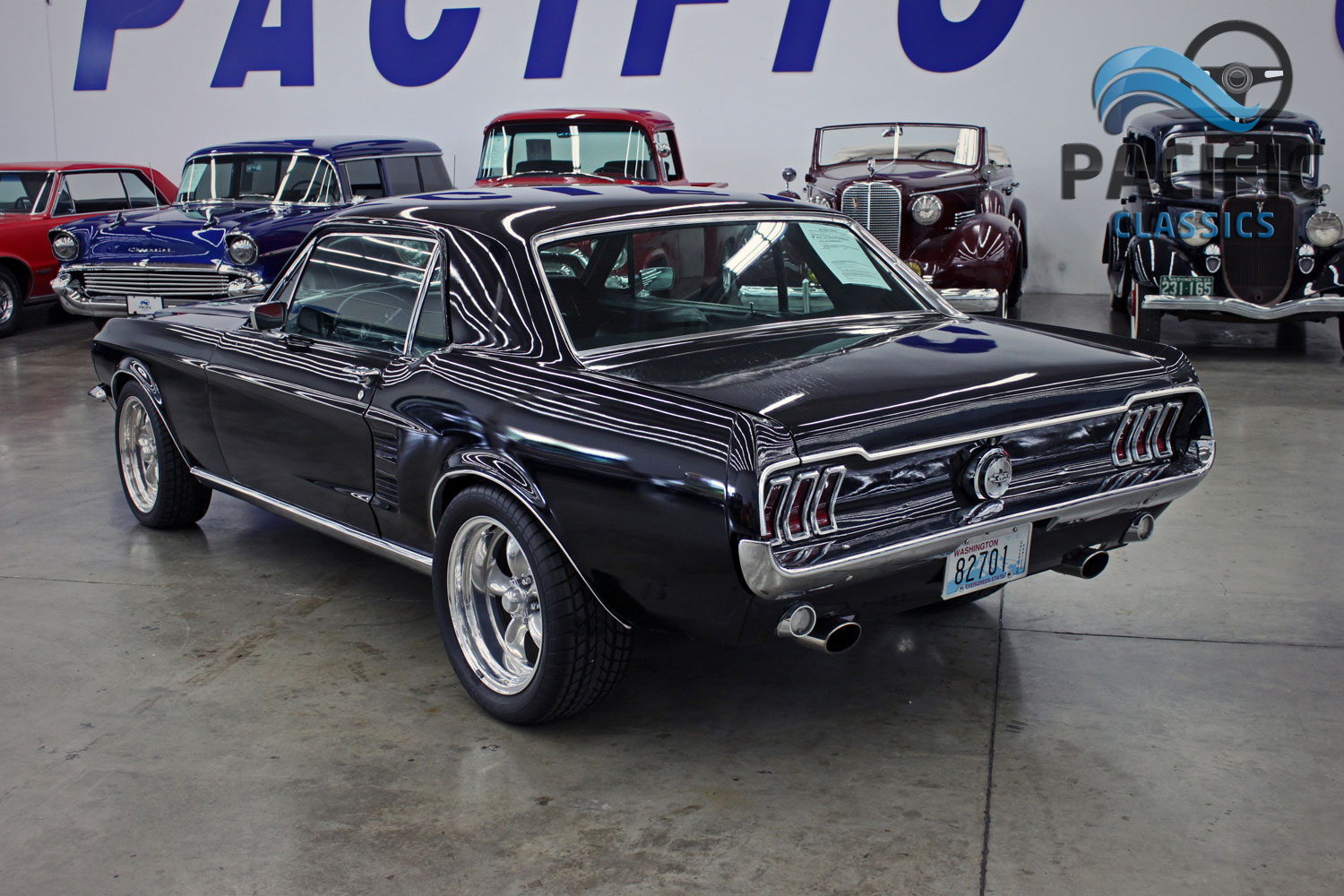 1967 Ford Mustang Coupe Pacific Classics