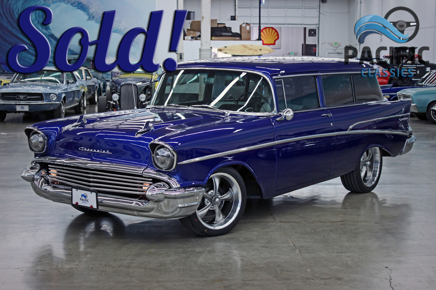 1957 Chevrolet 2 Door Wagon
