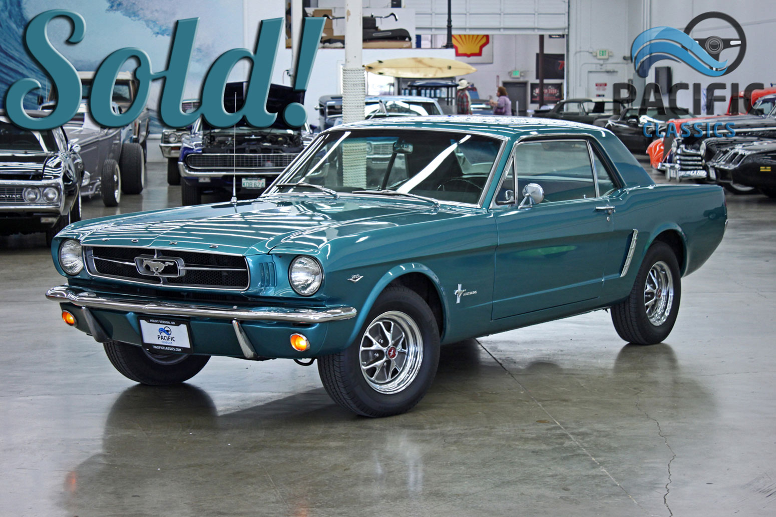 1965 Mustang Turquoise