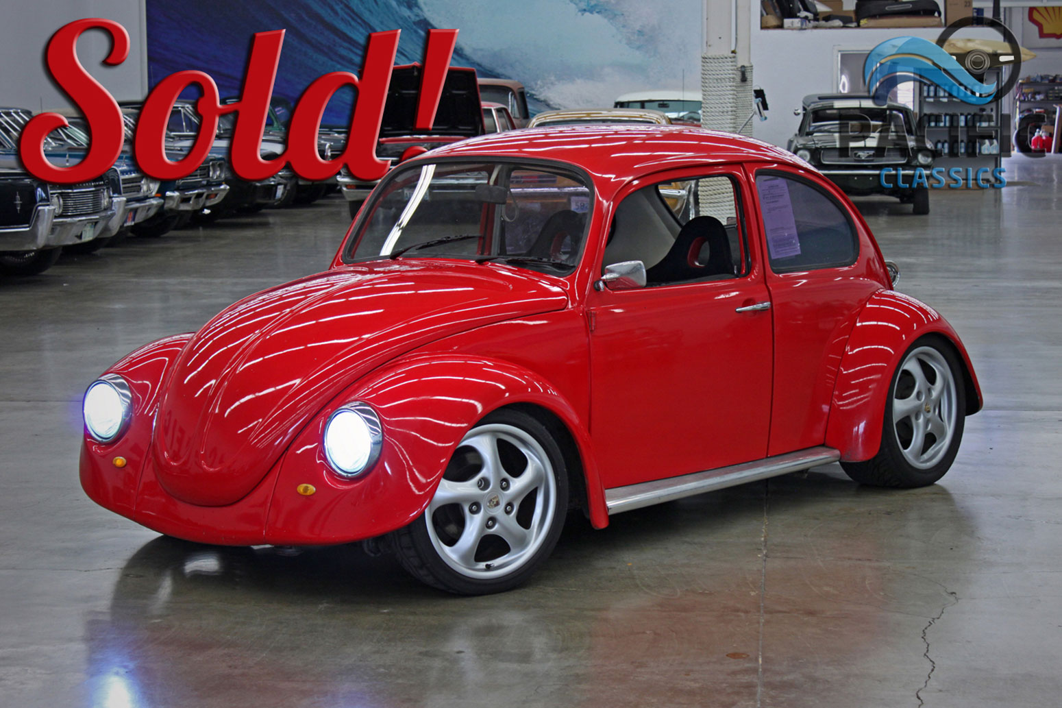 1968 Volkswagen Beetle Turbo Red