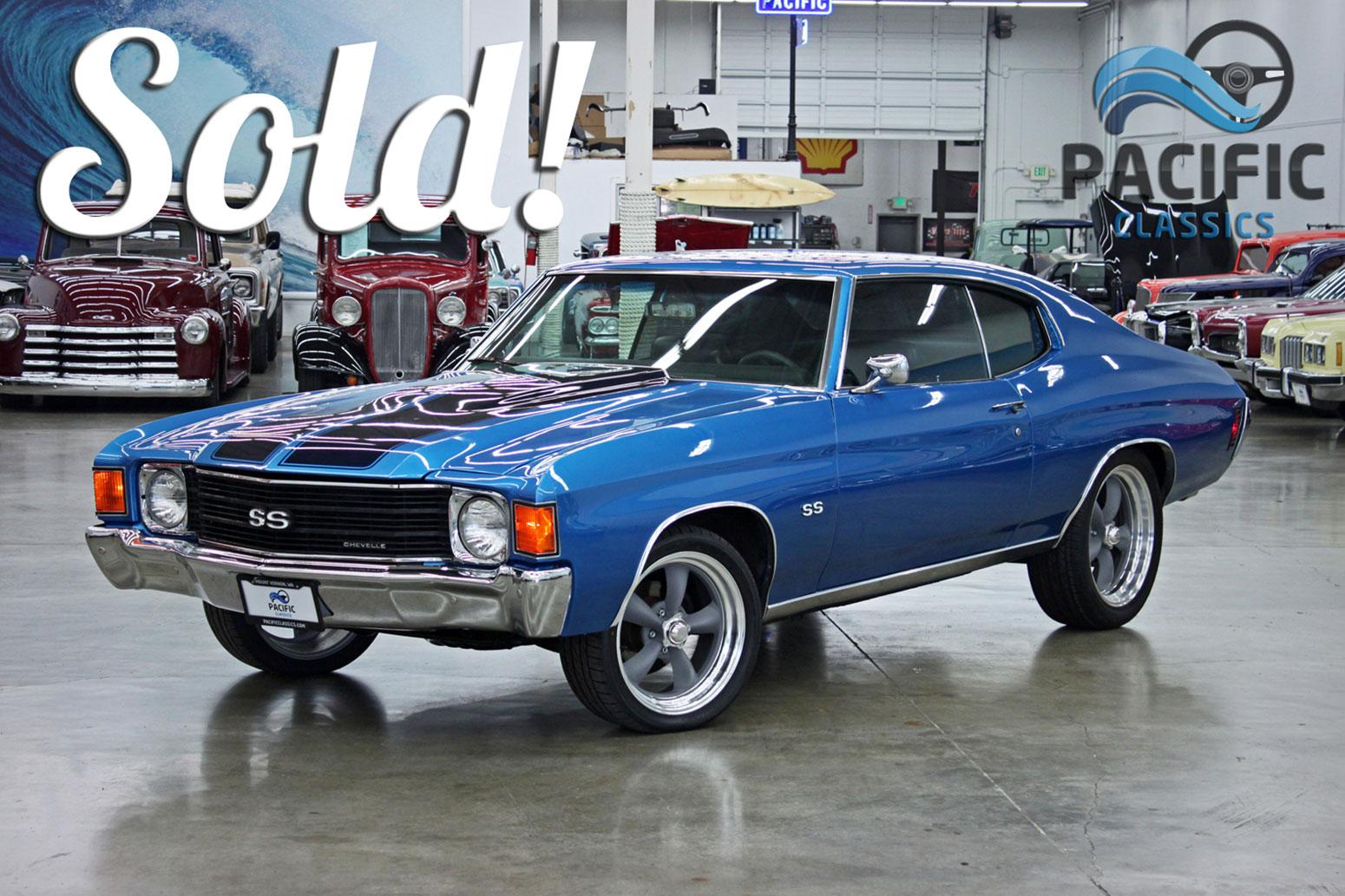 1972 Chevrolet Chevelle Bue