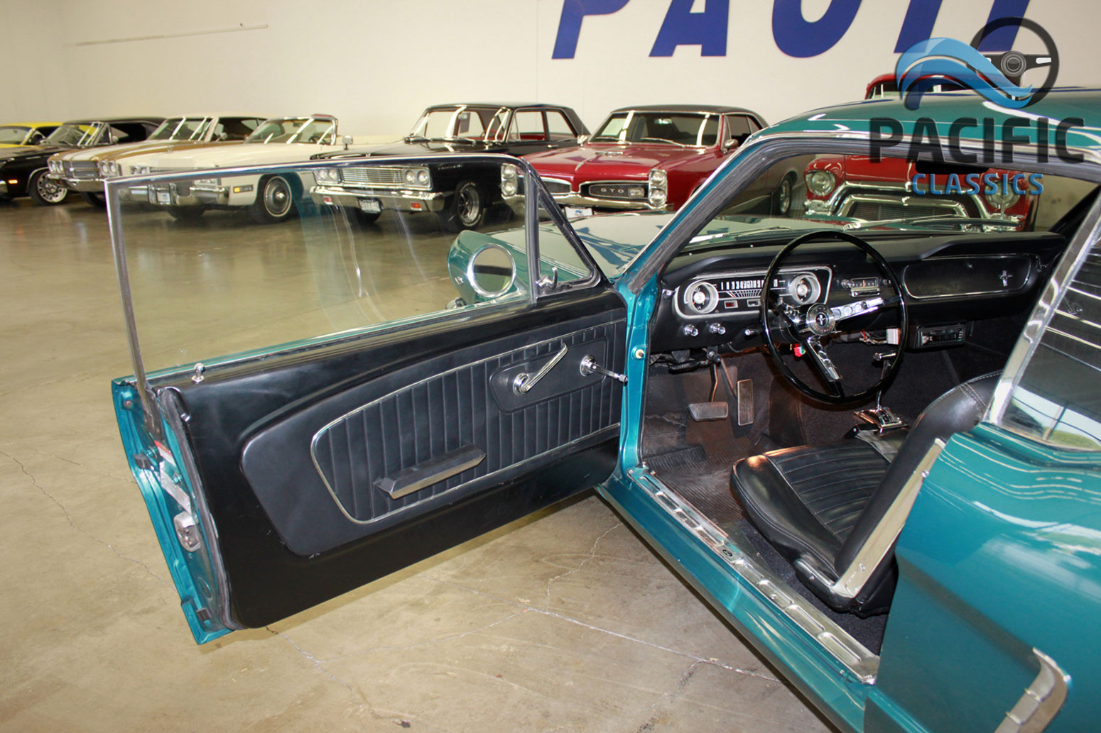 1965 Ford Mustang – Turquoise