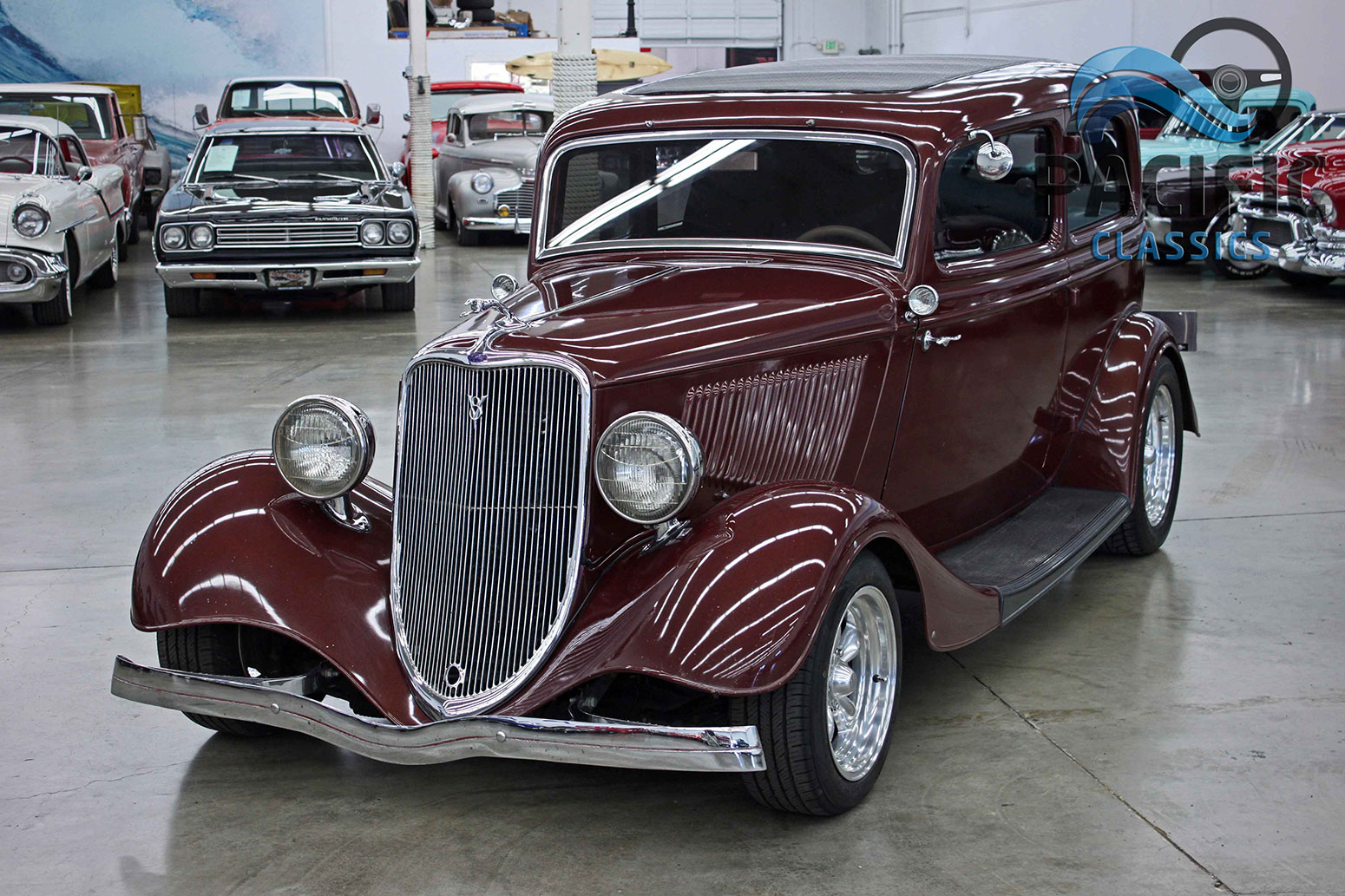 1933 Ford Two Door Sedan