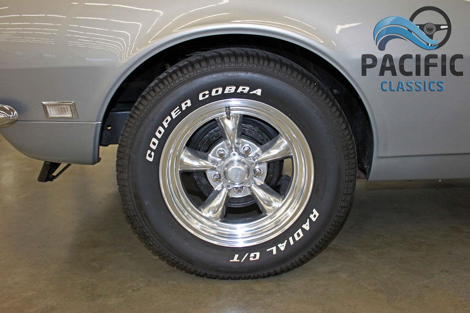 1968 Chevrolet Camaro Silver 4 Spd