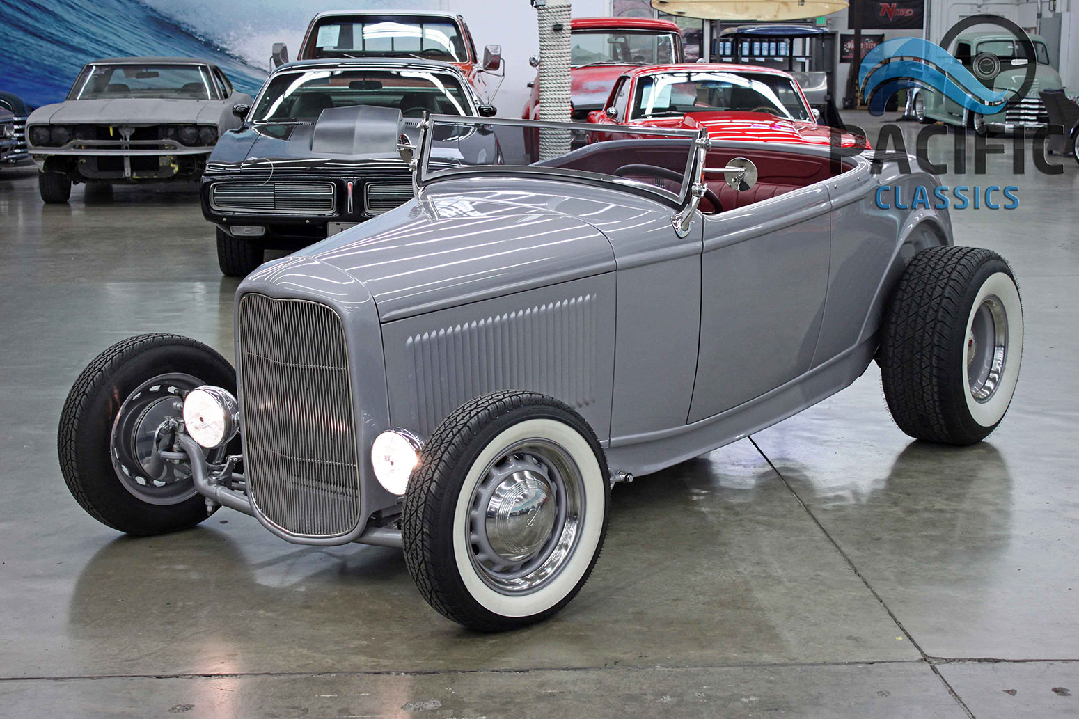 1932 Ford Roadster Gray