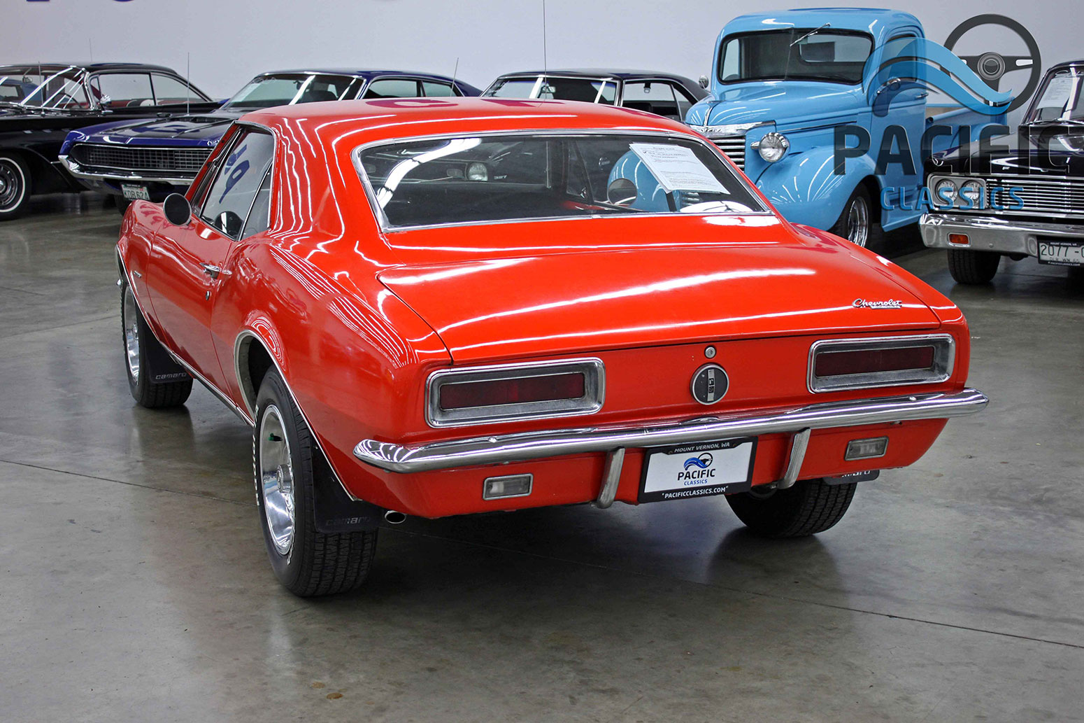 1967 Chevrolet Camaro RS Orange