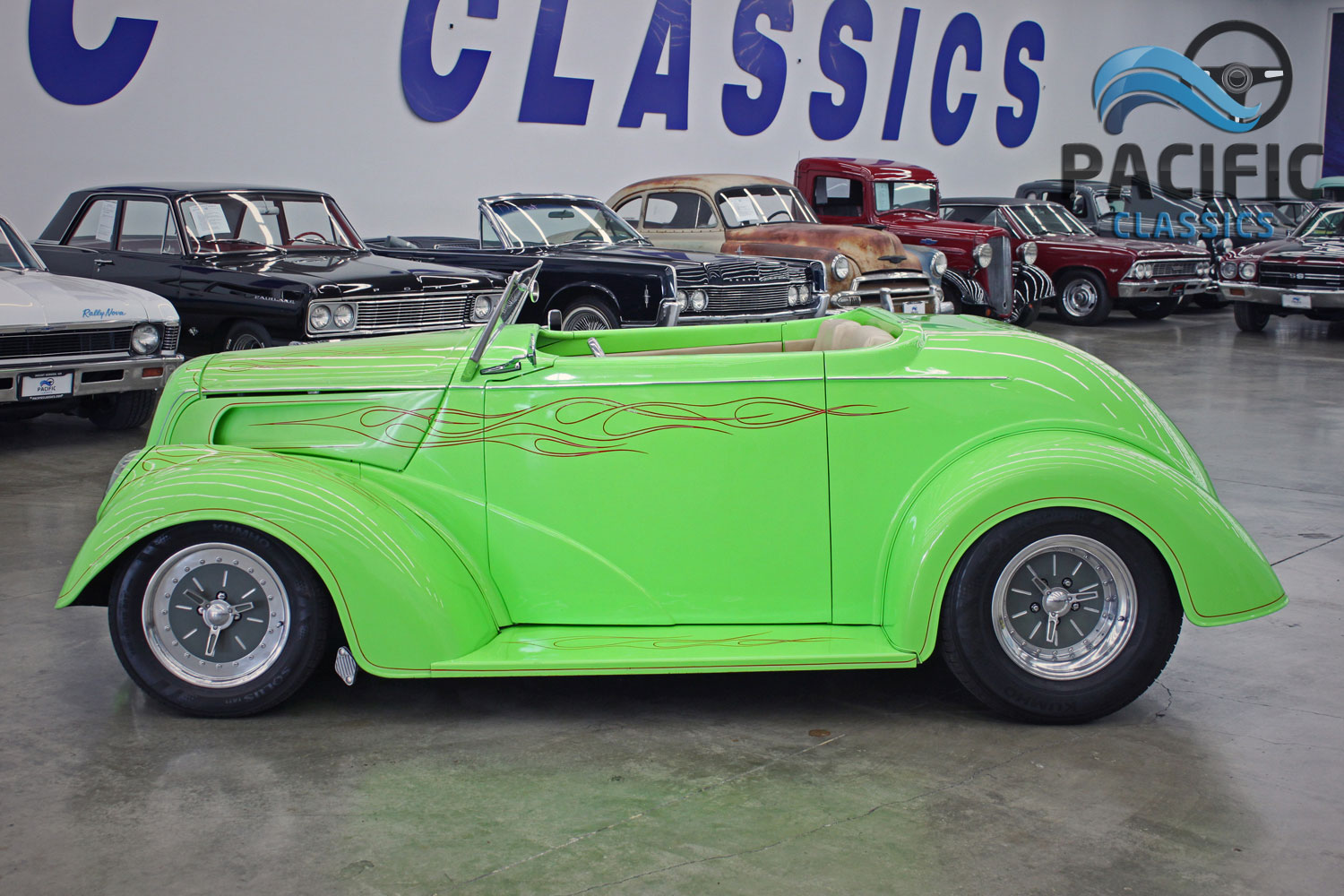 1937 Ford Roadster (Anglia body)
