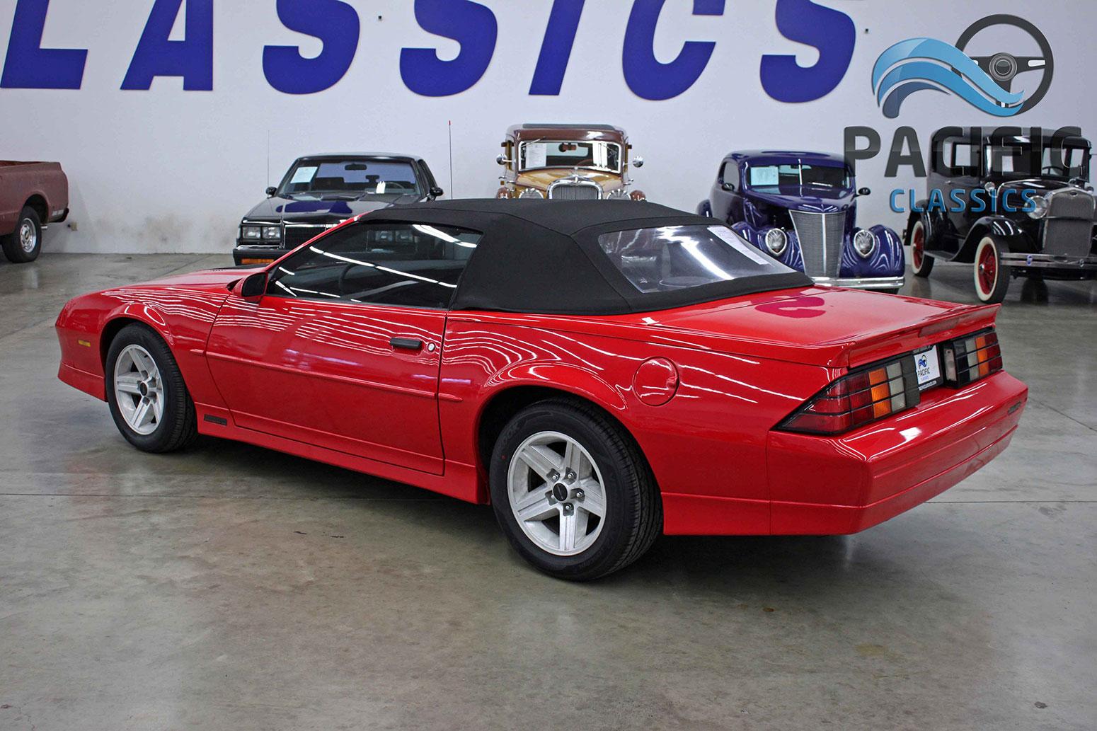 1989 Chevrolet Camaro Convertible