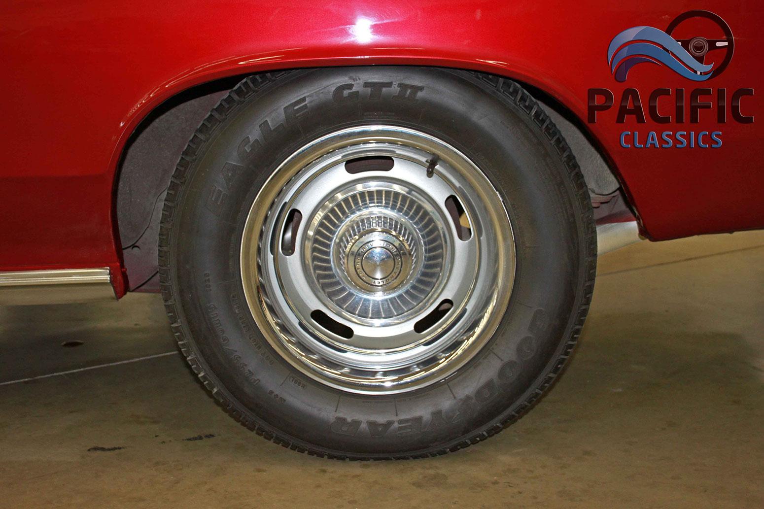 1966 Chevrolet Chevelle Burgundy