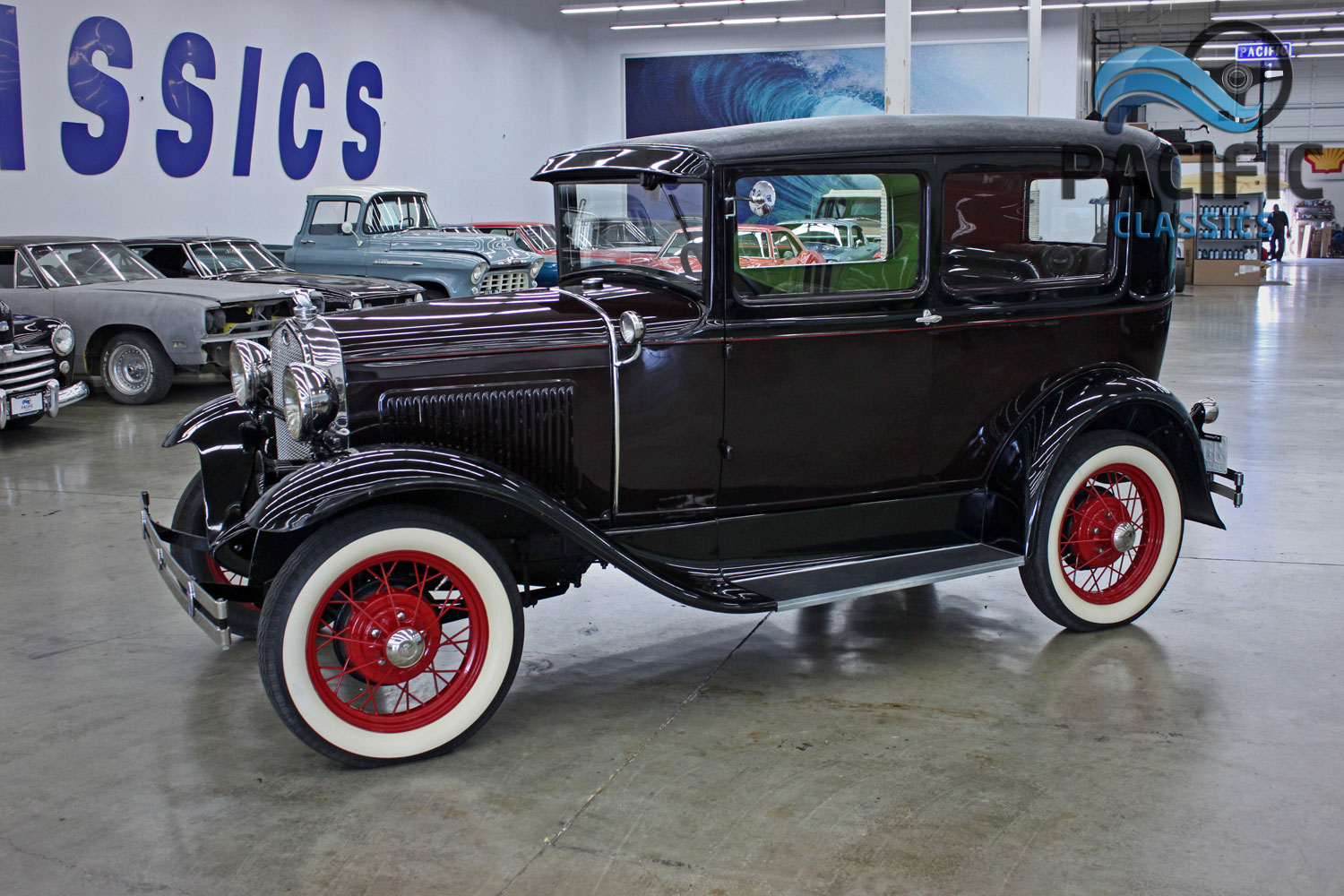 1930 Ford Model A Pacific Classics