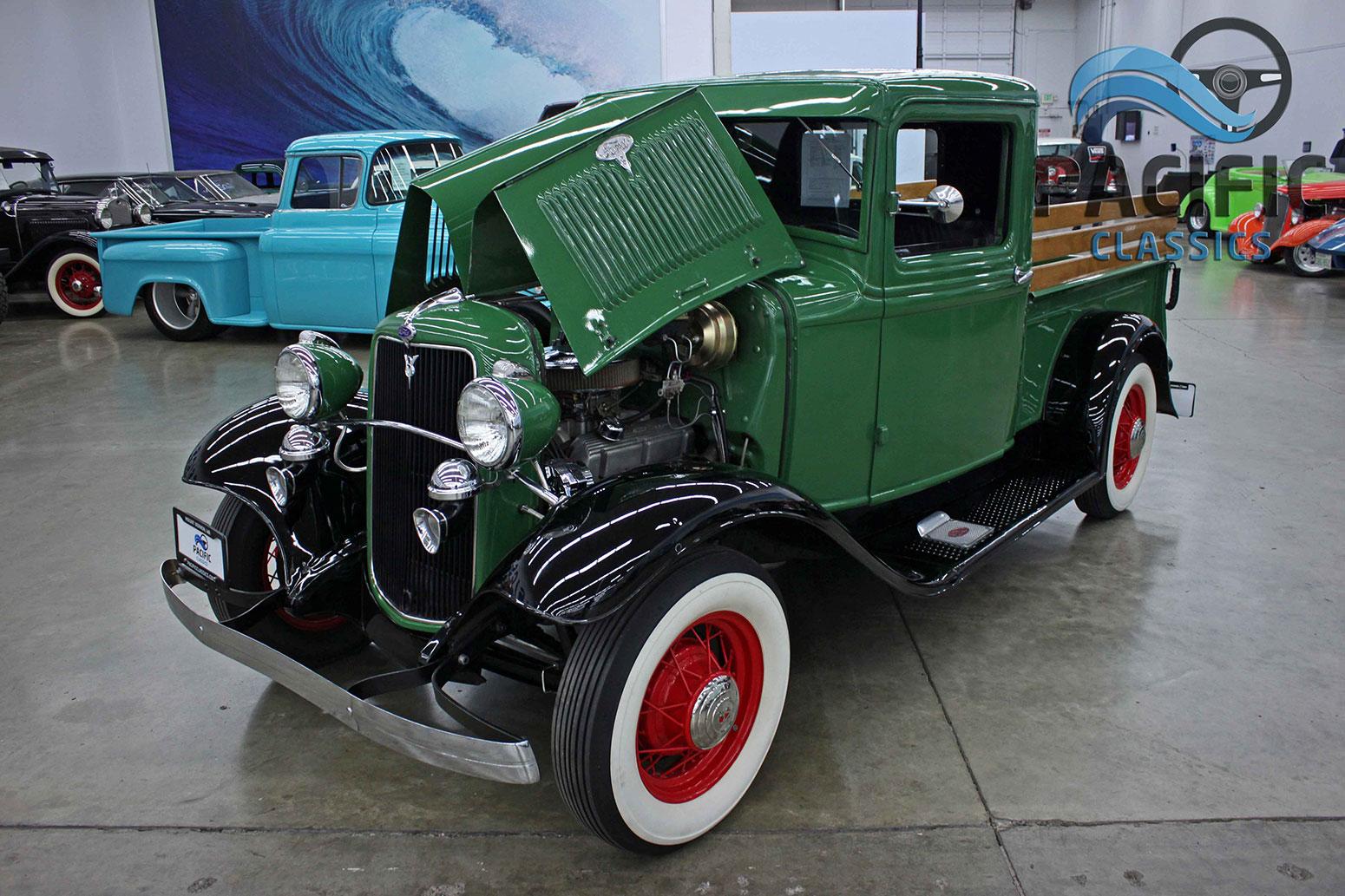 1934 Ford Model B Pickup Pacific Classics