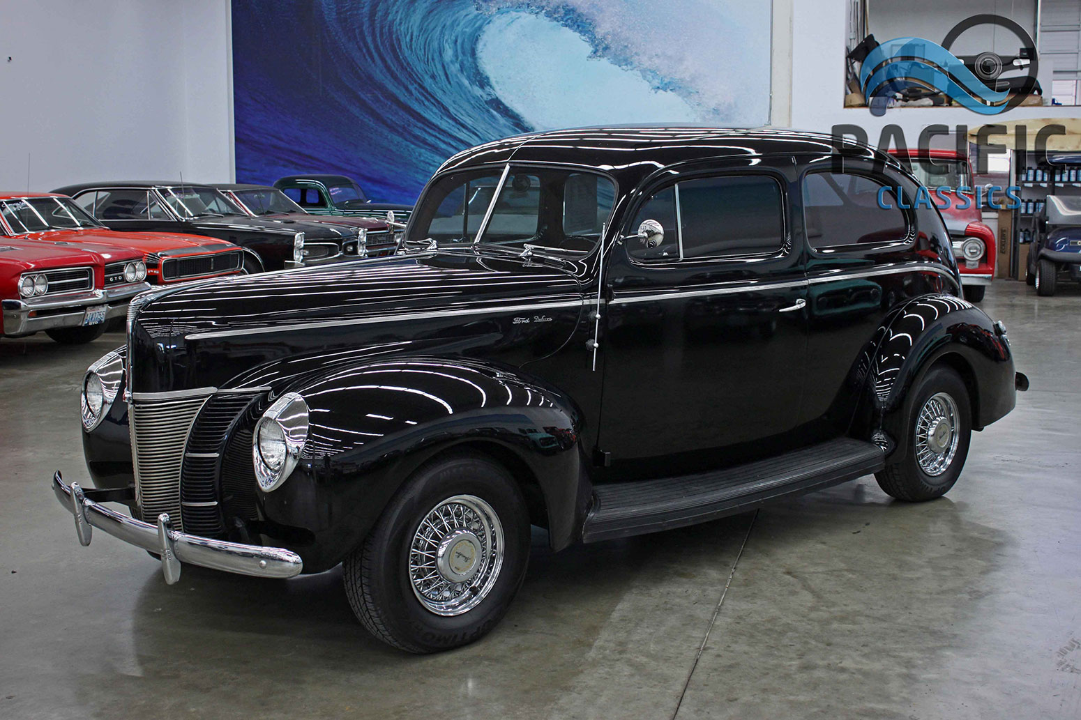 1940 Ford 2 Door Sedan Pacific Classics