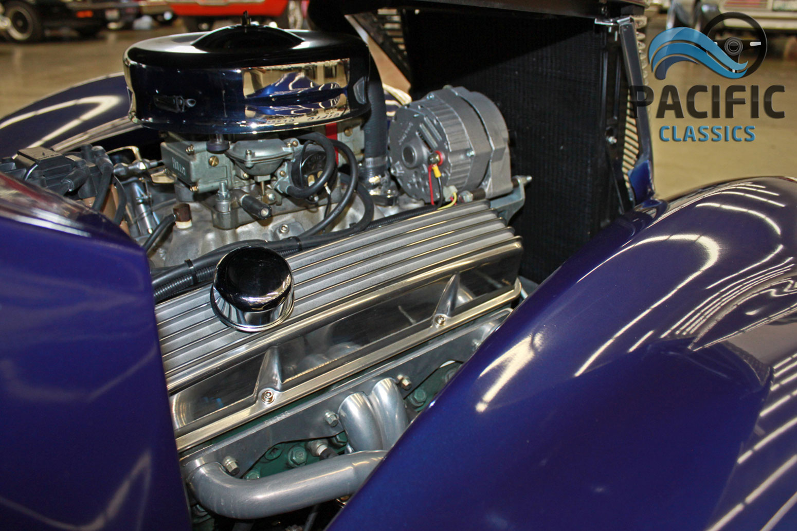 1937 Ford Coupe Kit – Purple