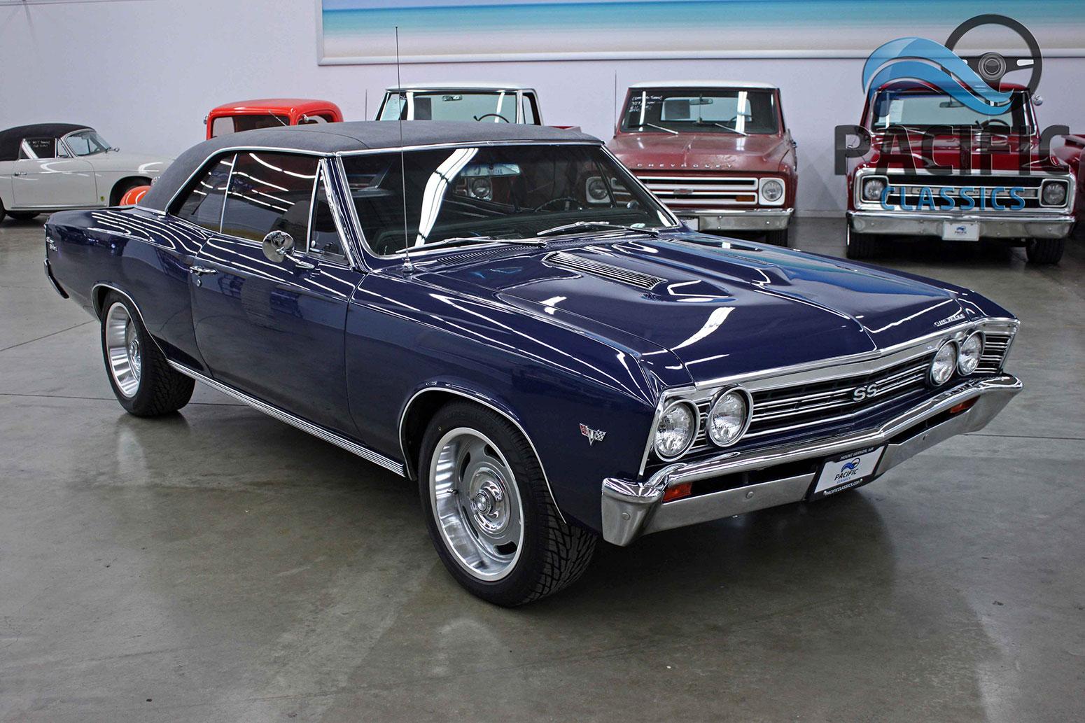 1967 Chevrolet Chevelle Dk Blue