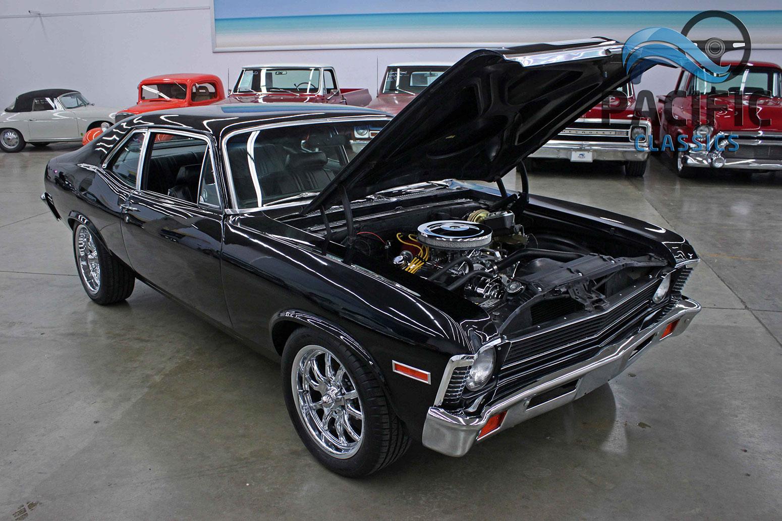 1972 Chevrolet Nova Black