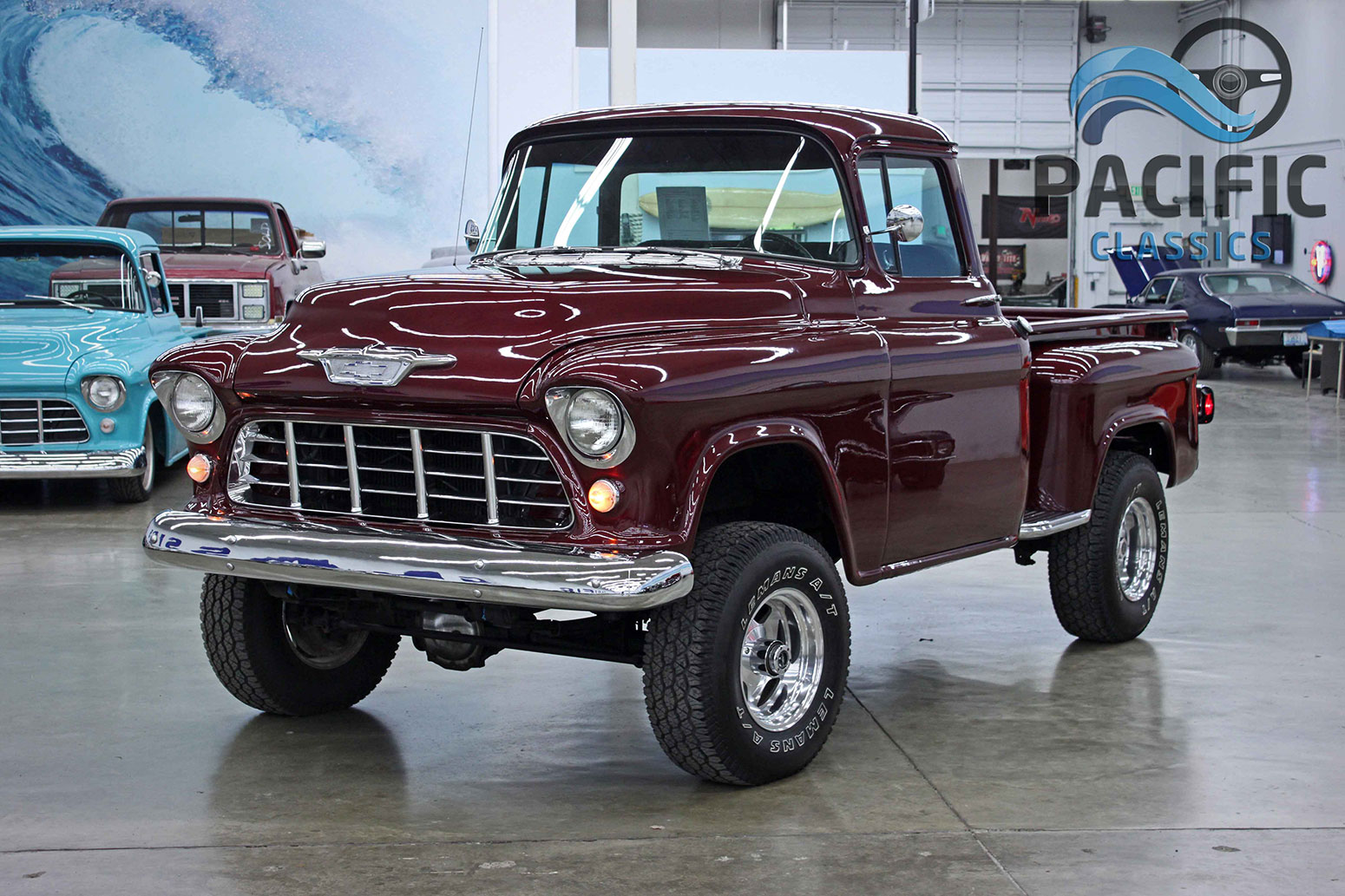 1955 Chevrolet 4x4 Pickup Pacific Classics