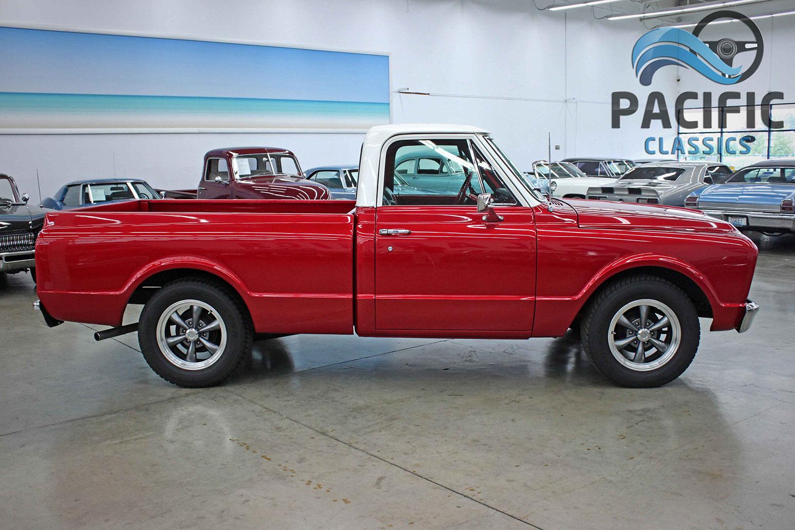 1967 Chevrolet C10 Red