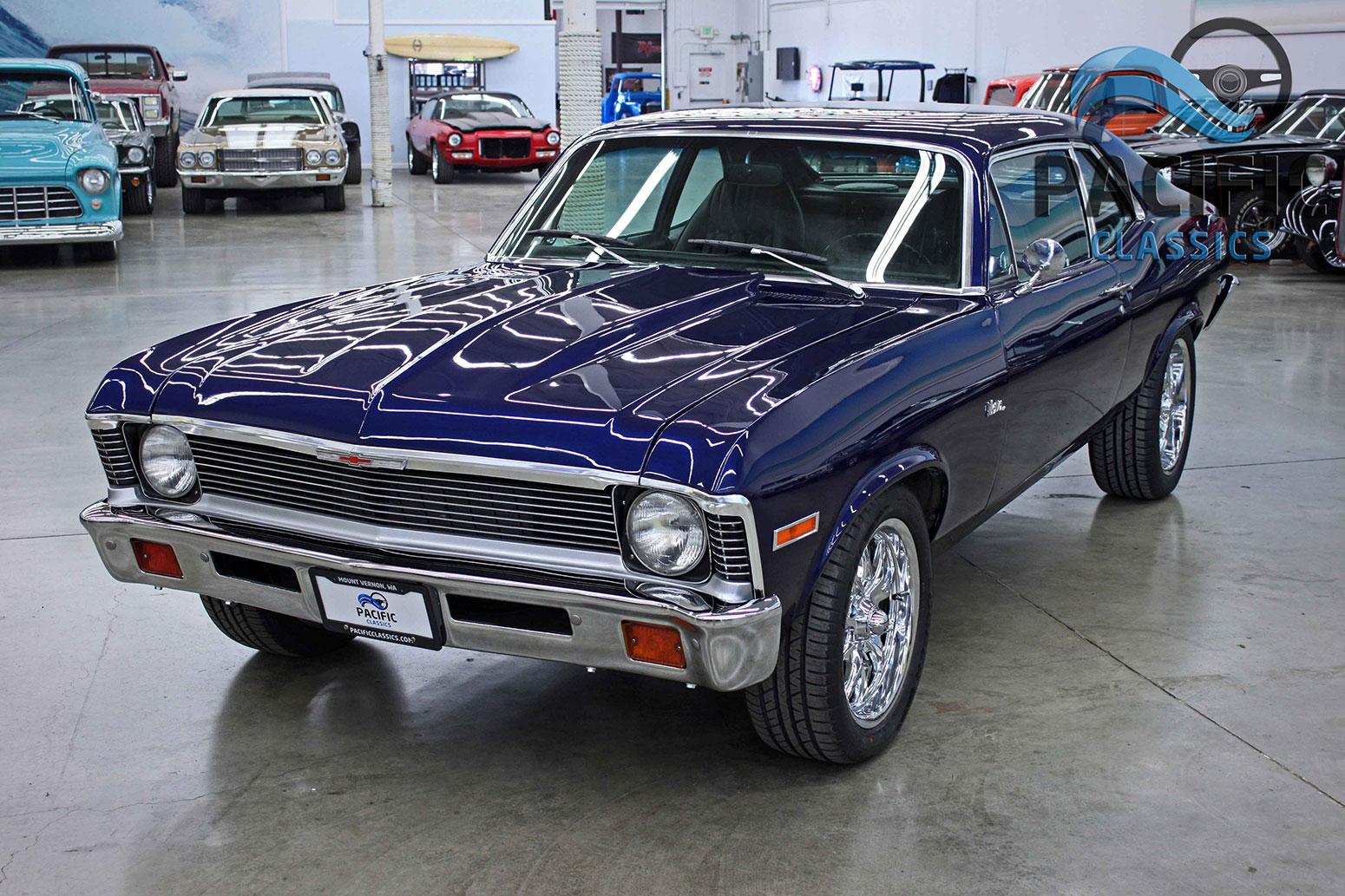 1972 Chevrolet Nova Blue
