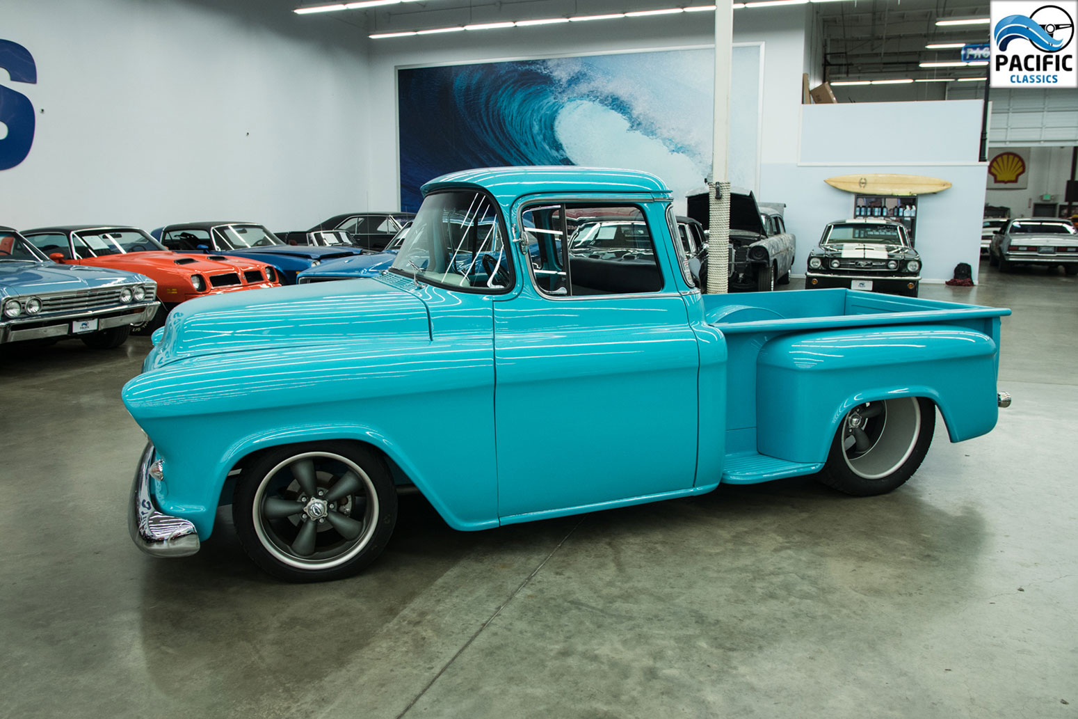 1955 Chevrolet Short Box PU With Big Back Window