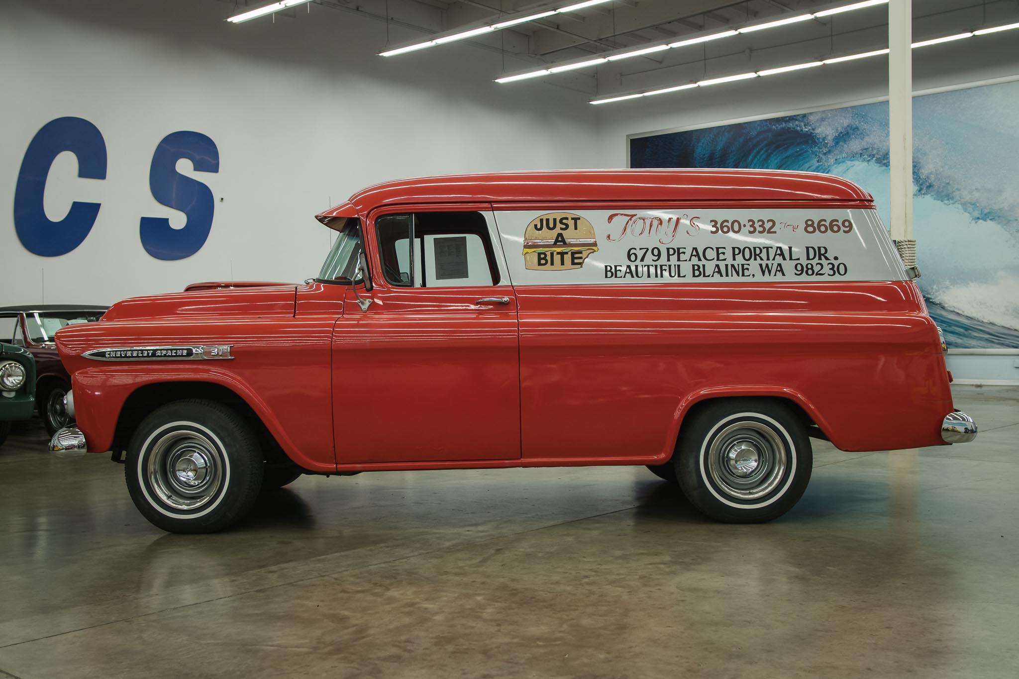 1959 Chevrolet Apache Panel Truck