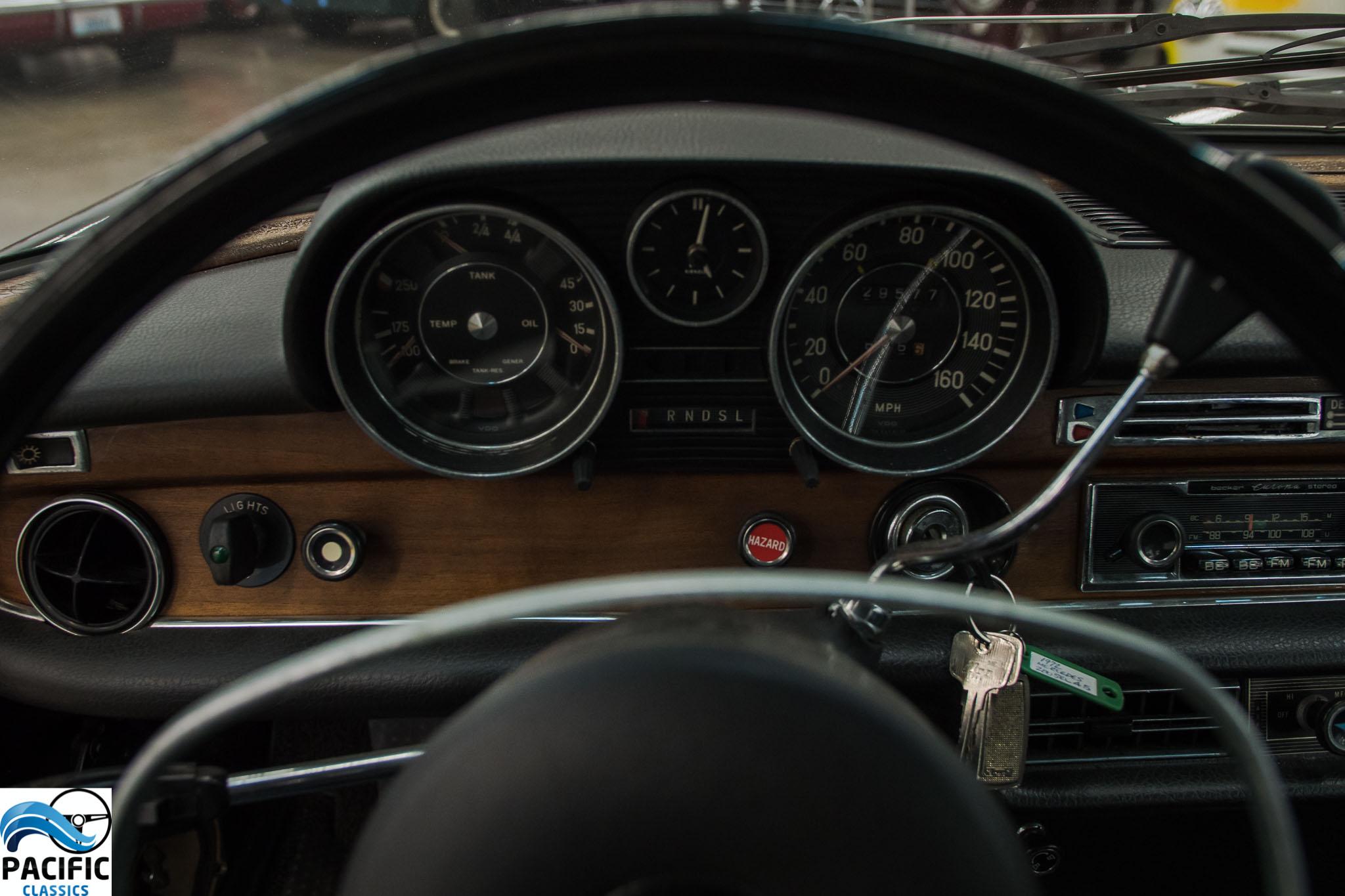 1972 Mercedes Benz 280 SEL 4.5