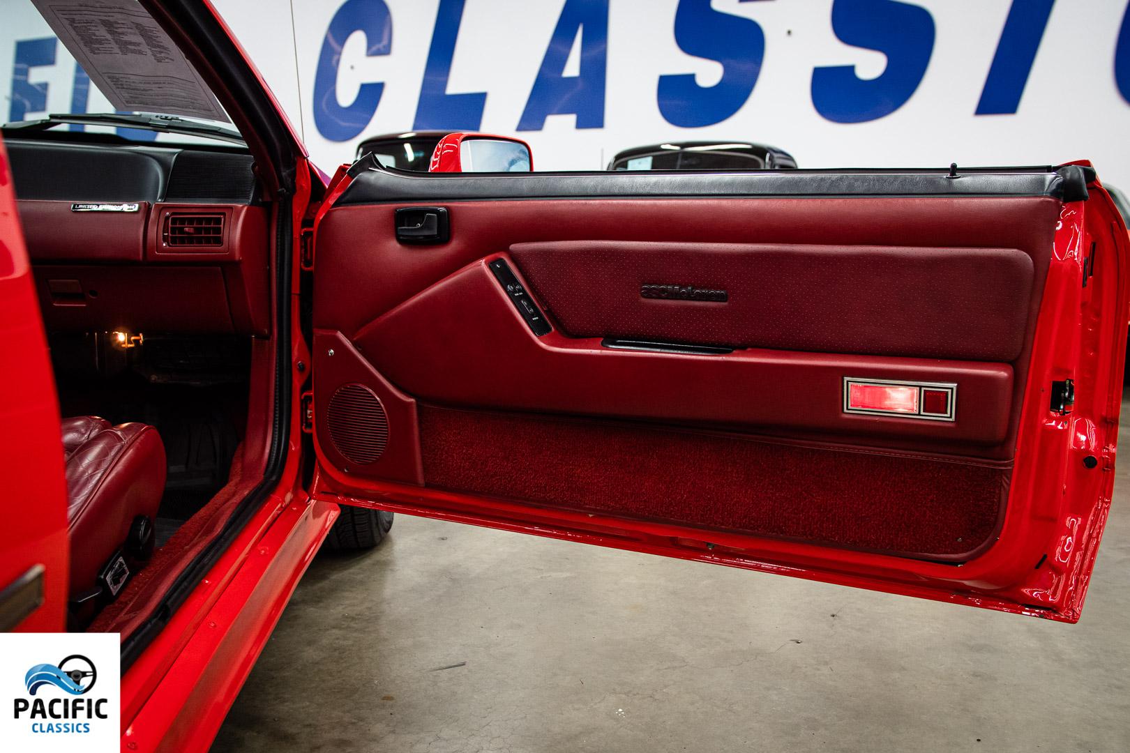 1988 ASC McLaren Mustang