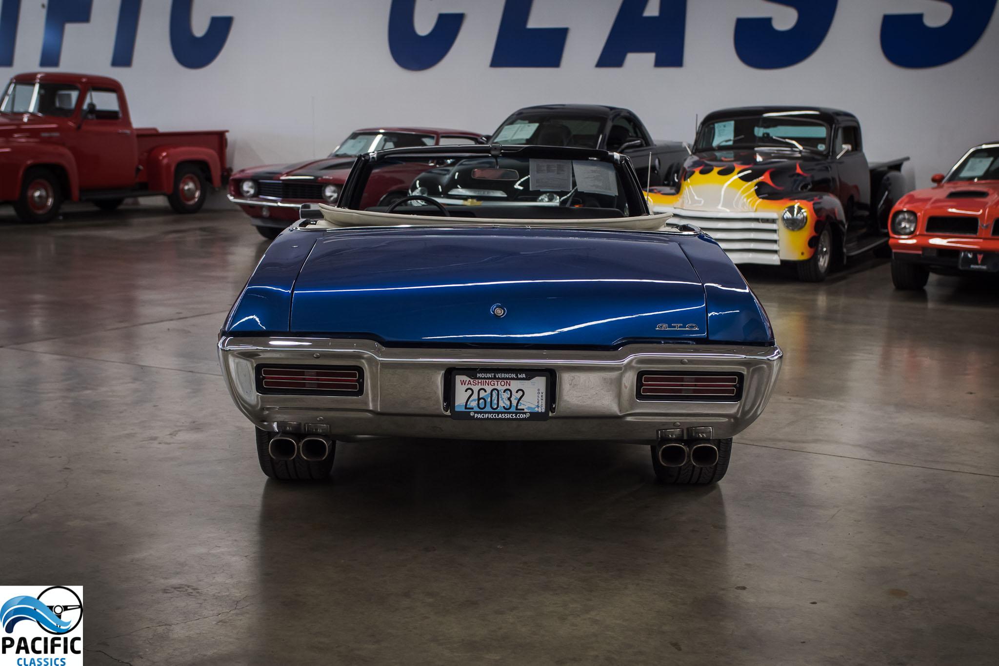 1968 Pontiac GTO Convertible