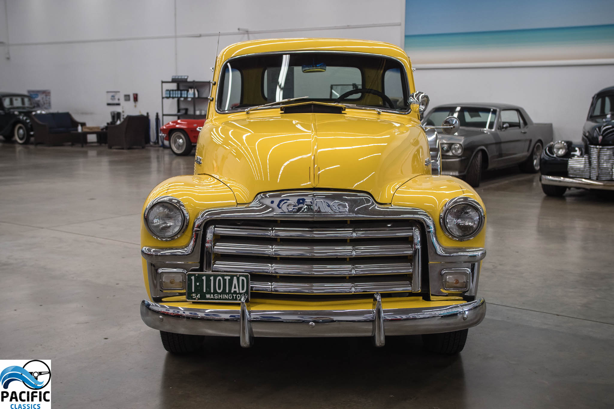 1954 GMC Five Window Pickup