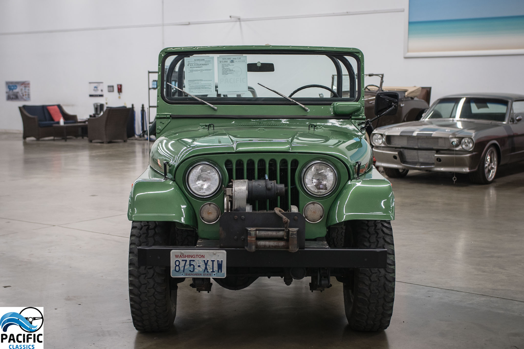 1974 AMC Jeep CJ5