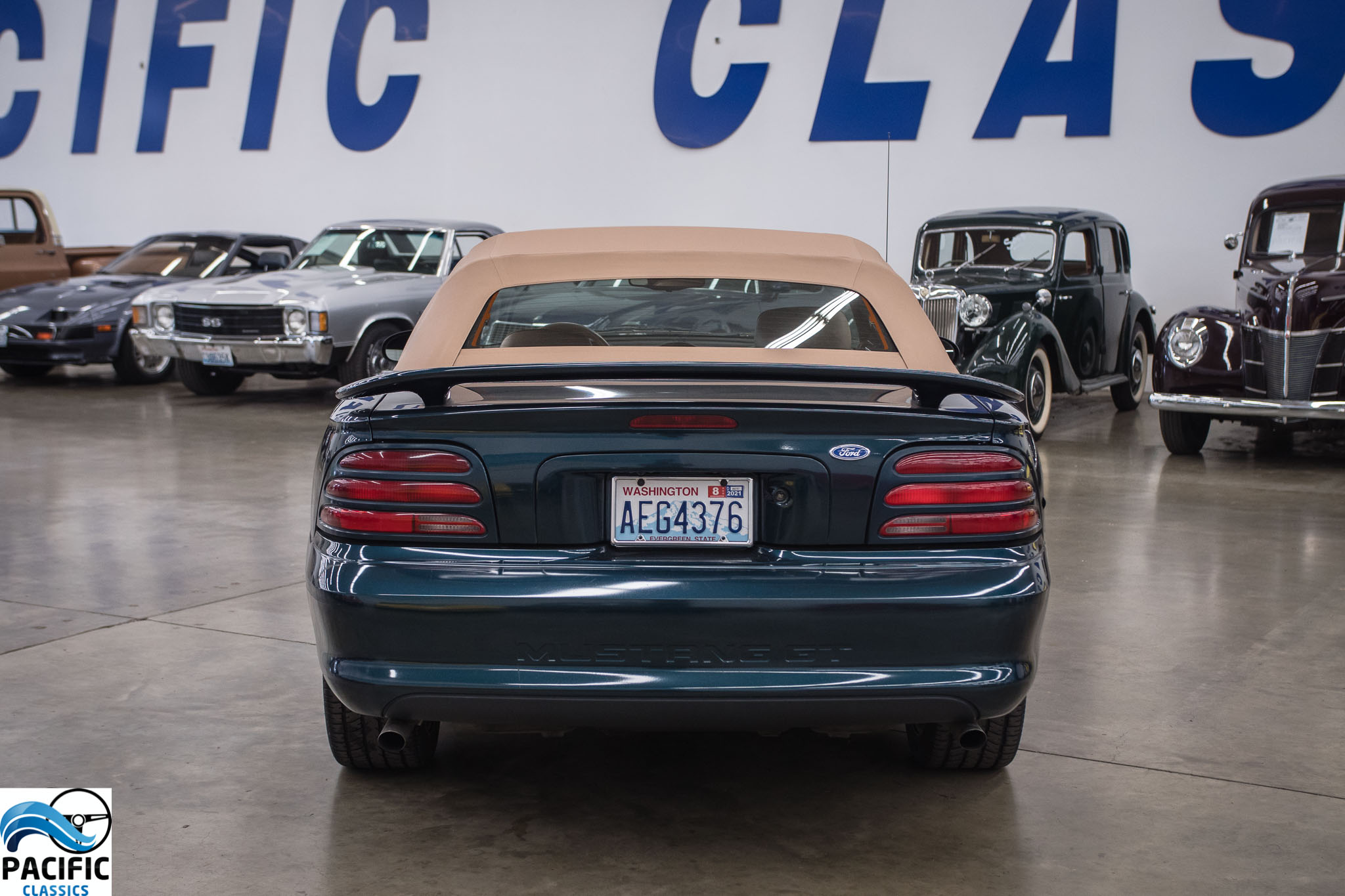 "1994 Mustang ""GT"" Convertible"