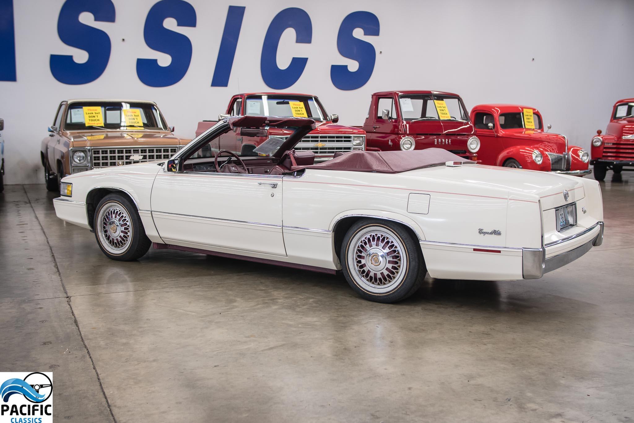 1989 Cadillac Coupe Deville Convertible