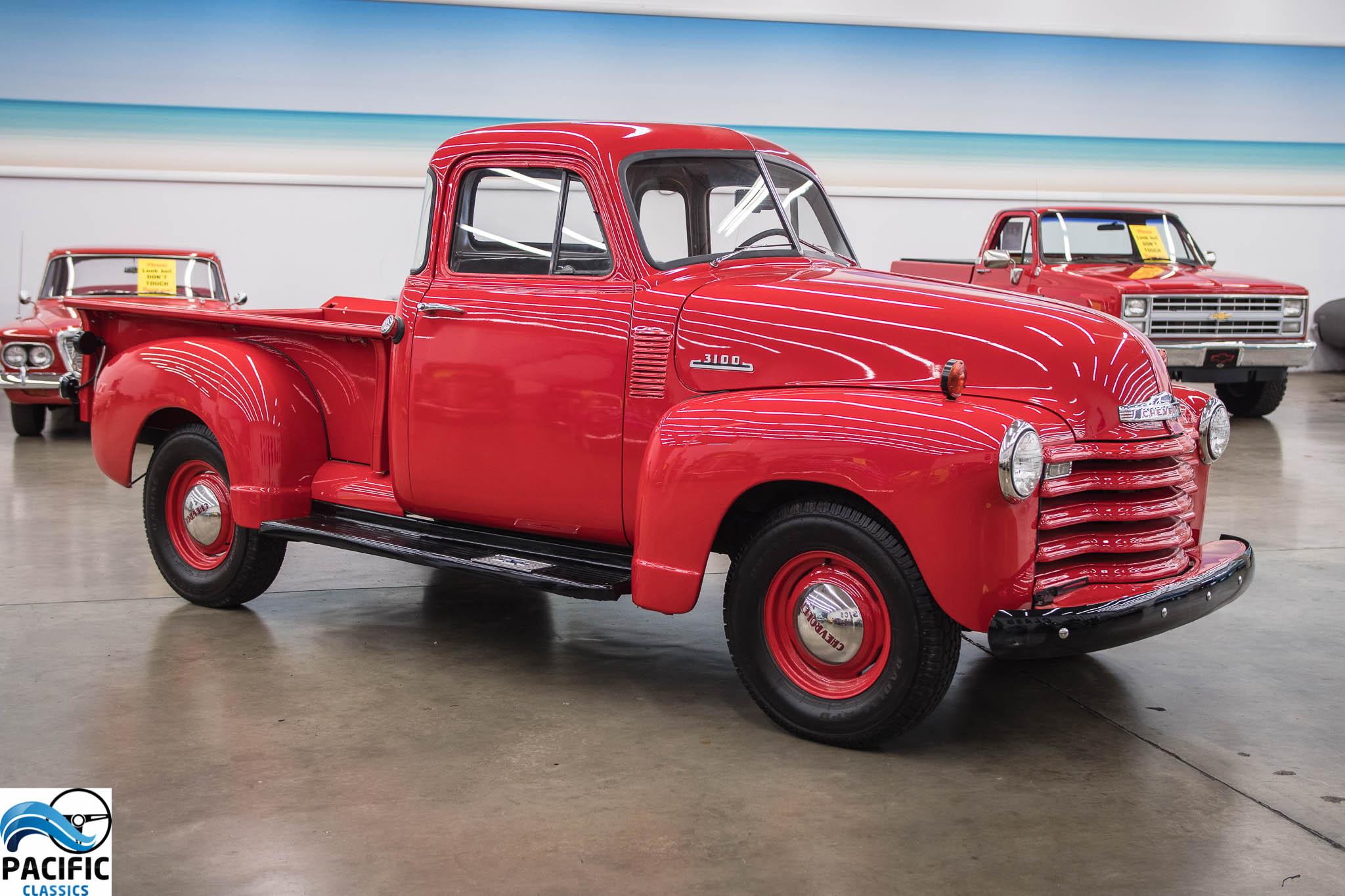 1953 Chevrolet 3100 Five Window